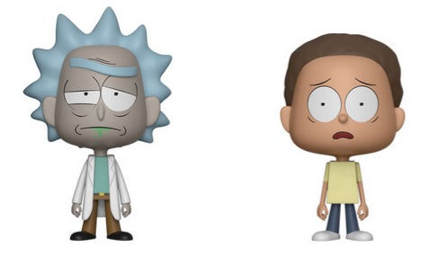 Rick and Morty Vynl Figures