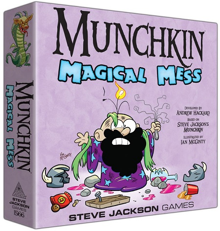 Munchkin Magical Mess Arriving in February