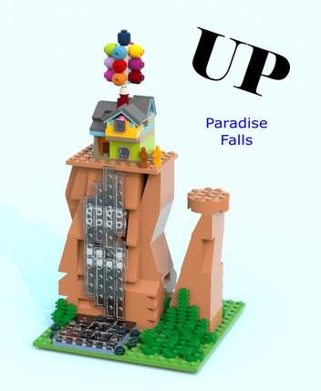 LEGO Ideas UP Paradise Falls