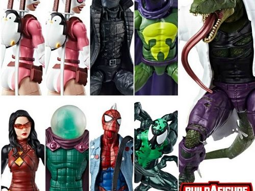 Marvel Legends Spider-Man Lizard BAF Nails It