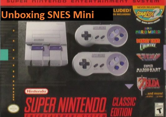 Unboxing the SNES Mini Console