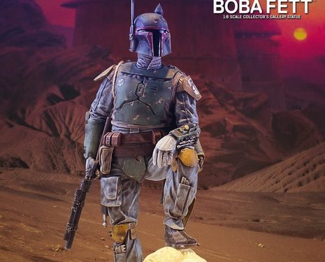 Gentle Giant Created A Boba Fett Collector Statue For Their Bounty Hunter Collection