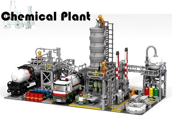 LEGO Ideas: Chemical Plant