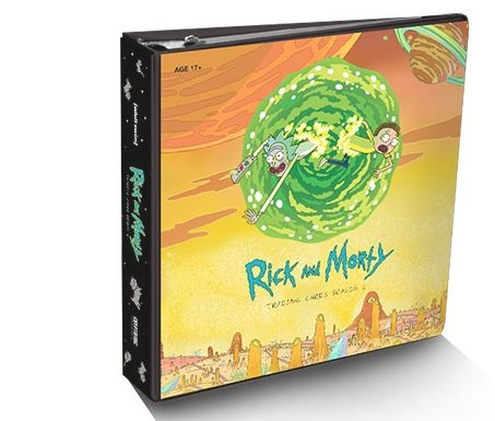 Rick and Morty Trading Cards Season 1 Available Now