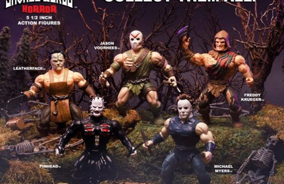 Horror Savage World Figures Brought to you by Funko