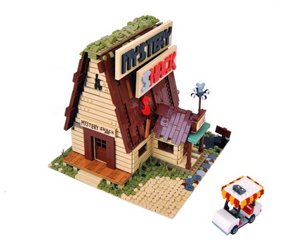 LEGO Ideas: Gravity Falls Mystery Shack