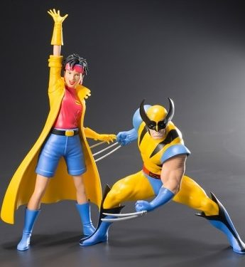 Perfect Marvel X-Men Wolverine Jubilee ARTFX+ 2 Pack