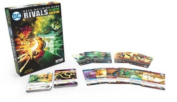 Cryptozoic Releasing DC Deck Building Game: Green Lantern vs Sinestro