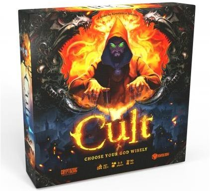Cryptozoic Cult Game Should Be On Your List