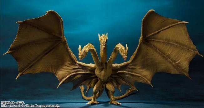 MonsterArt King MonsterArts King Ghidorah